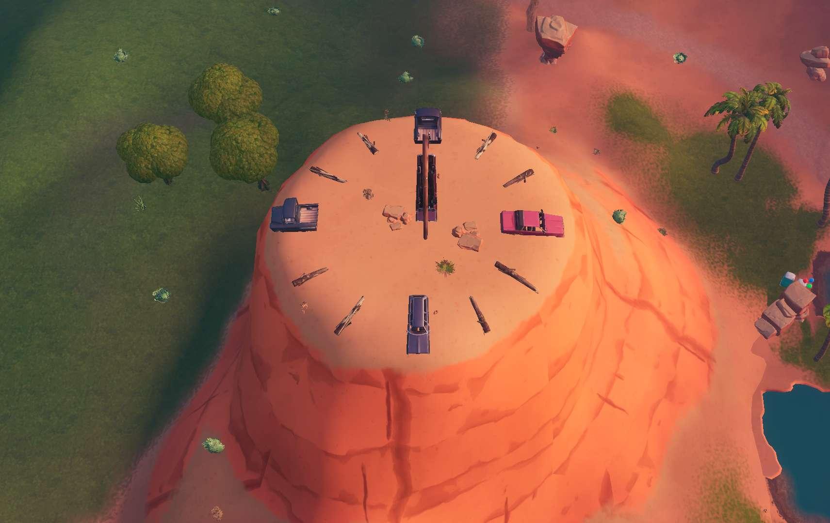 フォートナイト: 複数の時計を訪れる(シーズン9・ウィーク8)   げぇむ ...