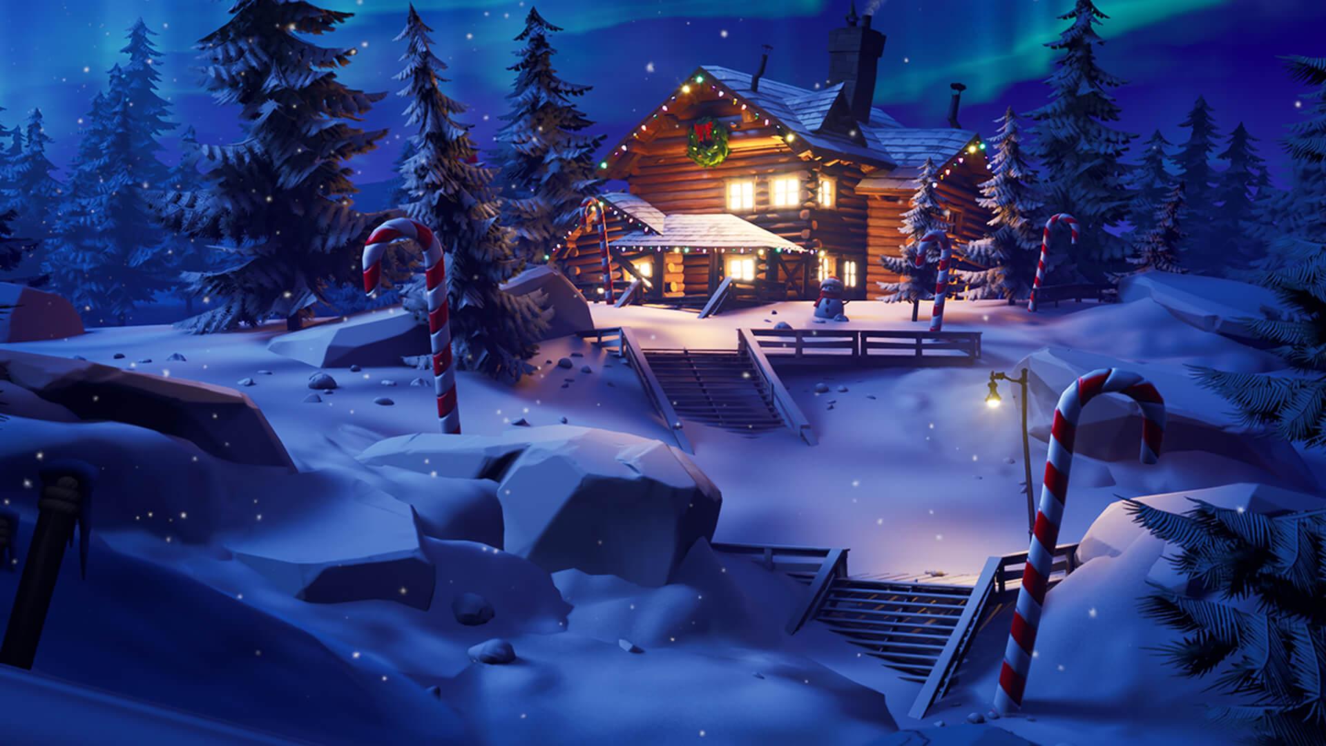 フォートナイトクリスマス
